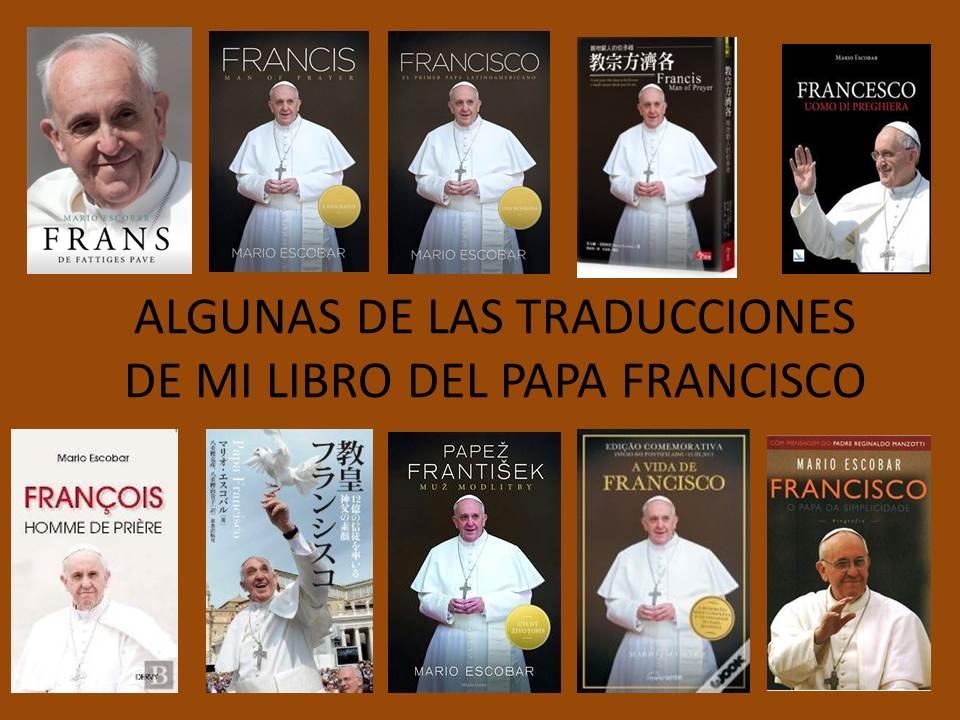 Traducciones del papa